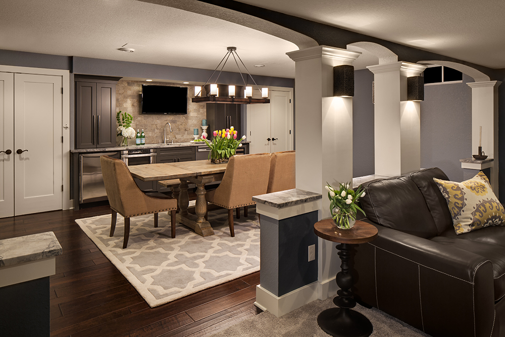 Unique Empty Basement Remodels