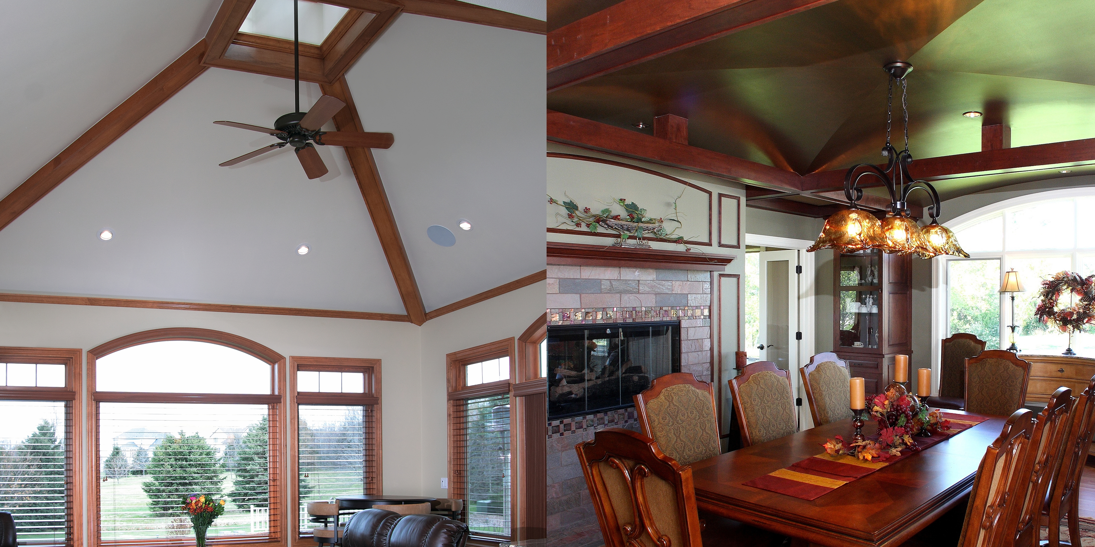 Ceiling design bartelt the remodeling resource for Vaulted ceiling plans