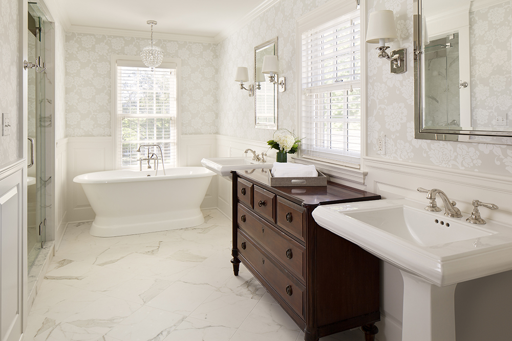 The classic bathroom bartelt the remodeling resource Classic bathroom designs small bathrooms