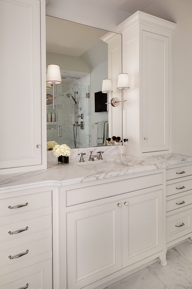 Fox Point Bathroom Remodel - Vanity Towers